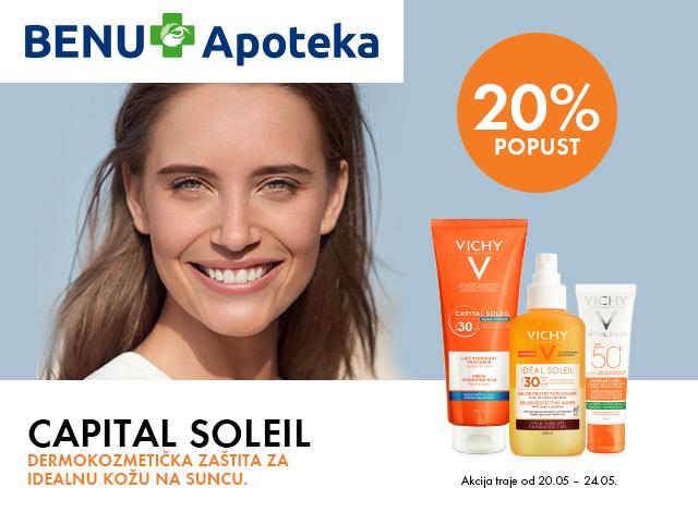 20% popusta na Capital Soleil