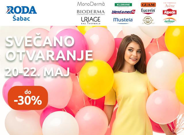 Apoteka RODA Šabac - do -30%