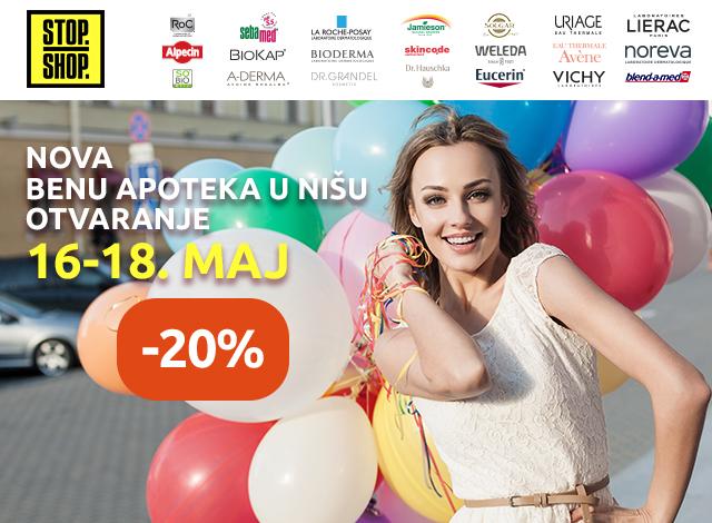 Apoteka STOP SHOP Niš - 20%