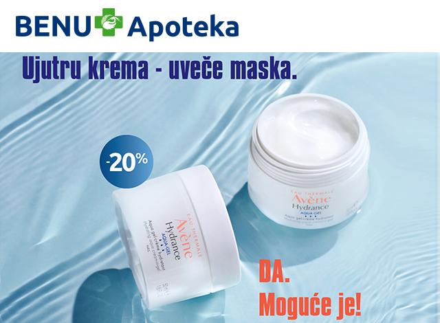 AVENE Hydrance AQUA-GEL -20%