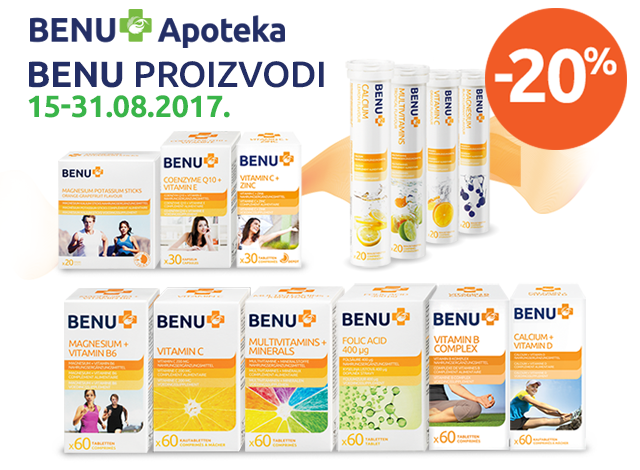 BENU - 20%