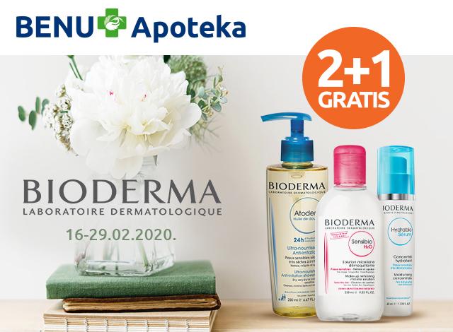 BIODERMA  2+1 GRATIS