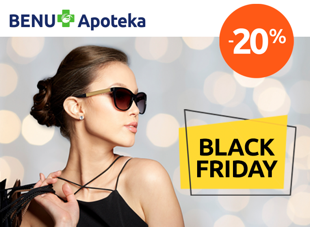BLACK FRIDAY - popust 20%