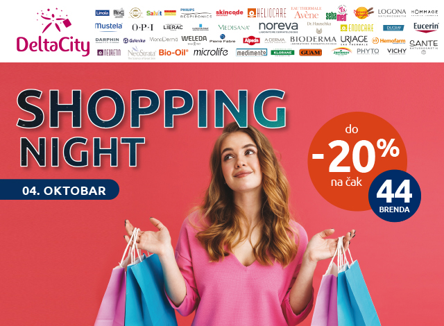 DELTA CITY SHOPPING NIGHT -  20%