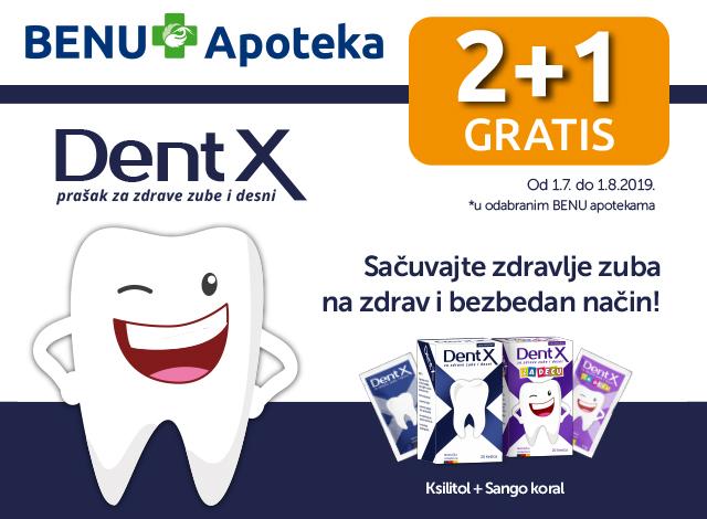 Dent X - 2+1