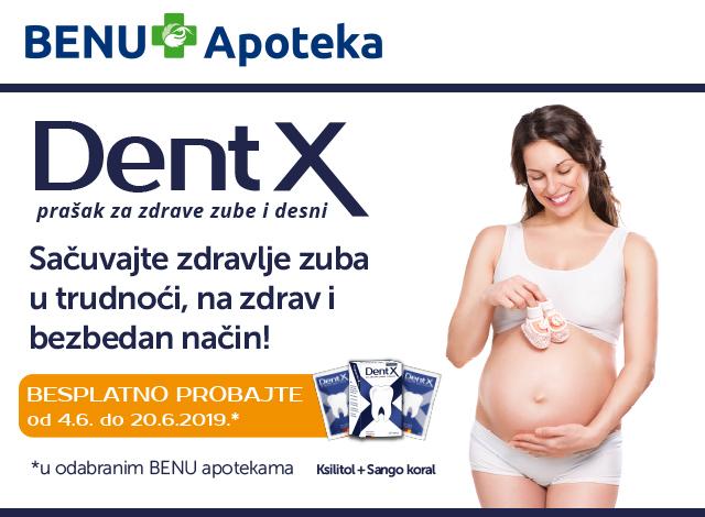 Dent X - Sačuvajte zdravlje zuba u trudnoći, na zdrav i bezbedan način!