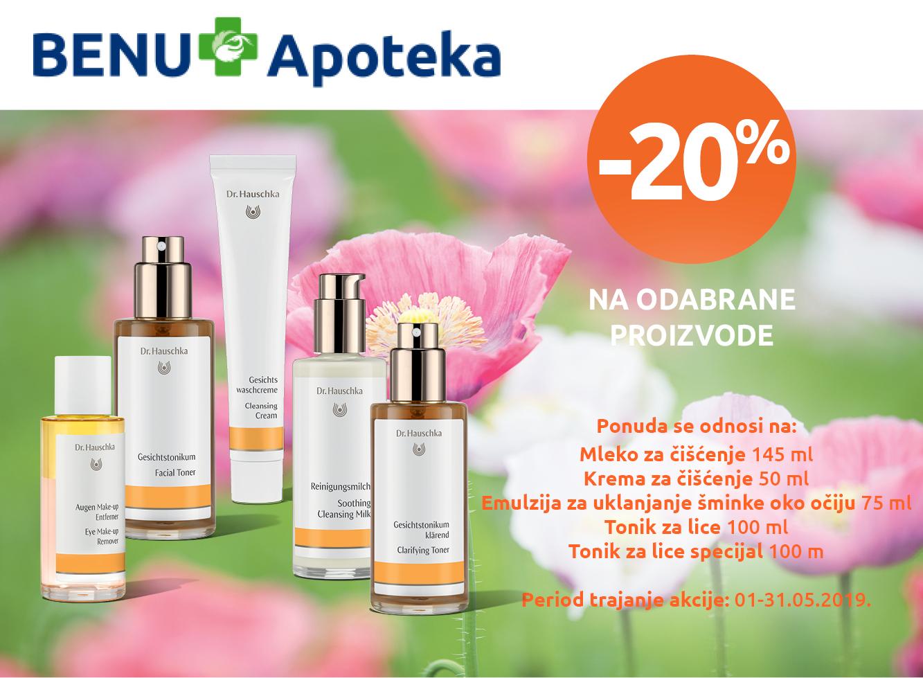 Dr. Hauschka - 20%