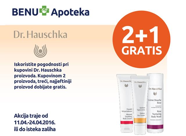 Dr. Hauschka 2+1 gratis