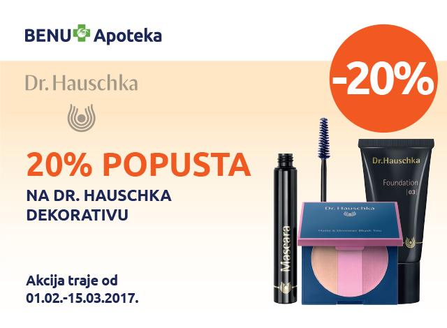 Dr. Hauschka - popust 20%