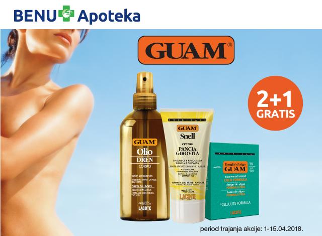 GUAM 2+1 GRATIS