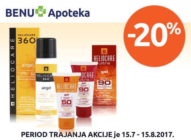HELIOCARE - popust 20%