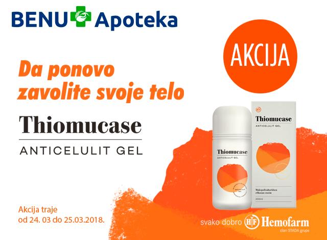 Hemofarm Thiomucase gel AKCIJA