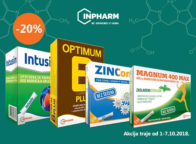 INPHARM -20%