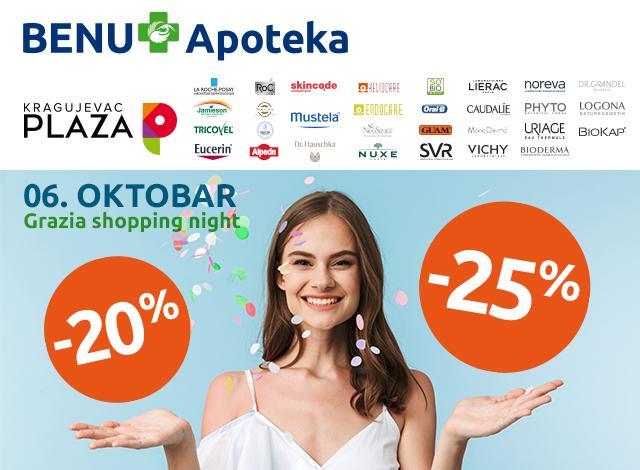Kragujevac Plaza – Grazia Shopping Night