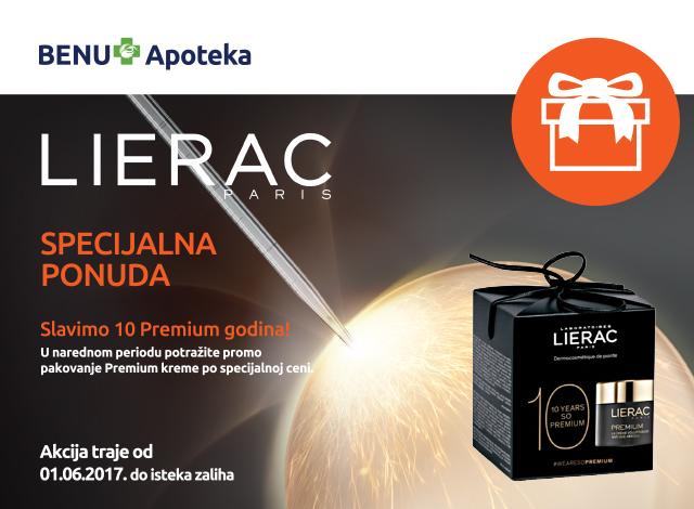 Lierac - 10  Premium godina