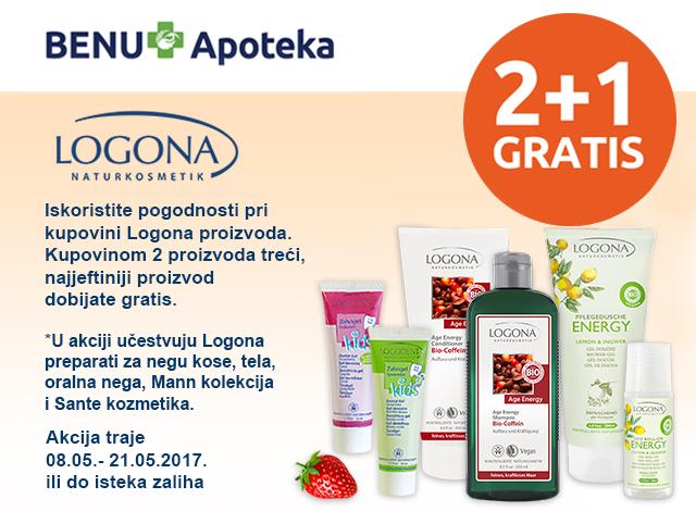 LOGONA - 2+1 Gratis