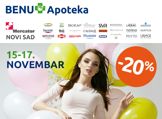 MERCATOR NOVI SAD - 20%