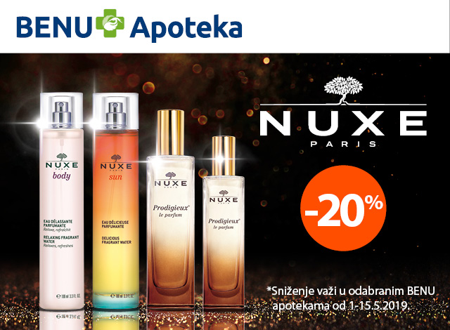NUXE -  20%