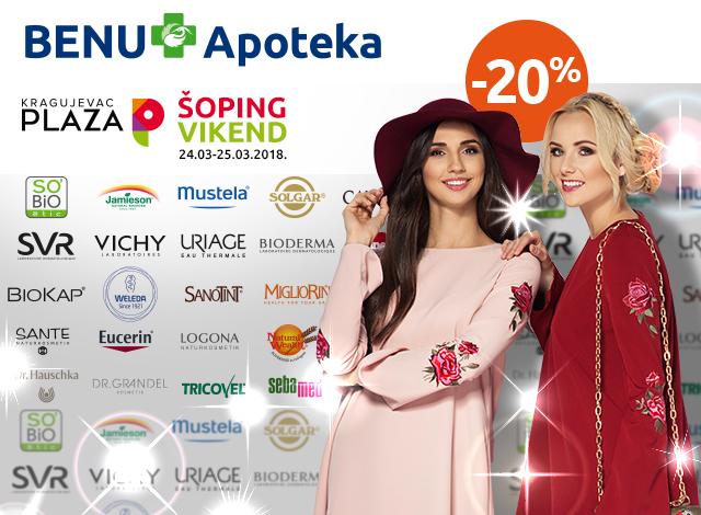 PLAZA Kragujevac -20%