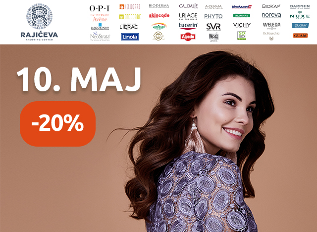 RAJIĆEVA SHOPPING CENTER -  20%