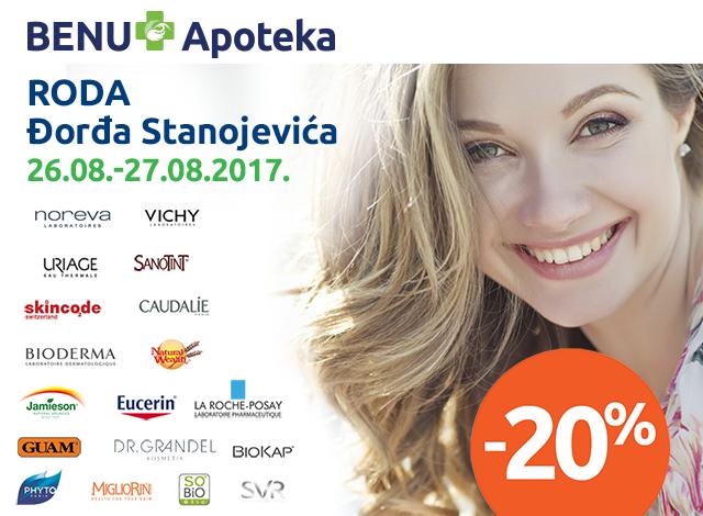 RODA Đorđa Stanojevića - 20%