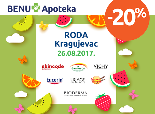 RODA Kragujevac - 20%