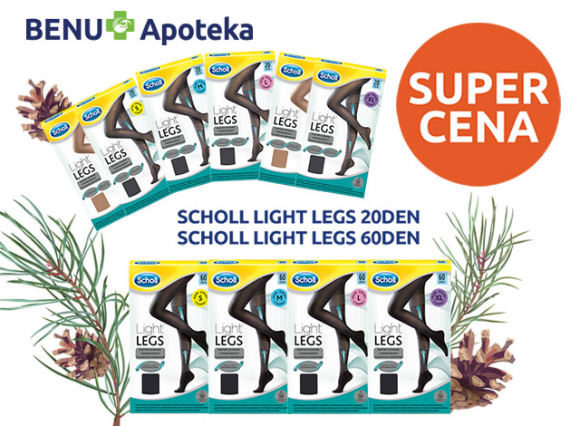 SCHOLL LIGHT LEGS - SUPER CENA