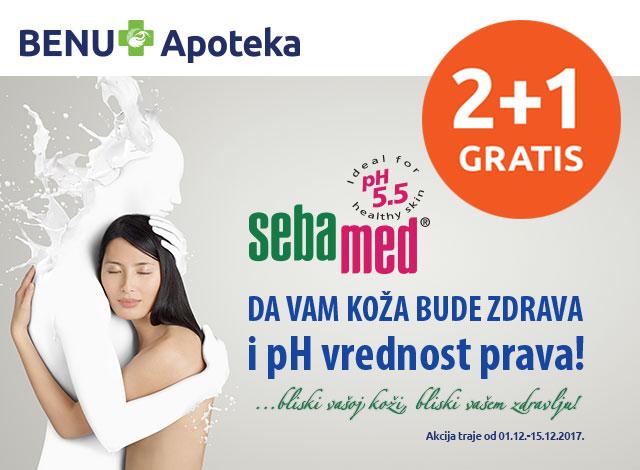 SEBAMED 2+1 gratis