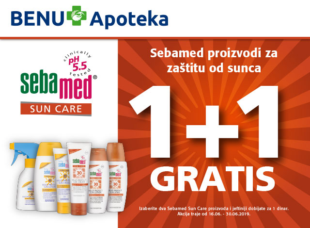 SEBAMED SUN CARE - 1+1