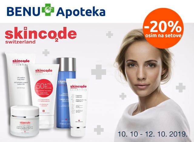 Skincode -20%