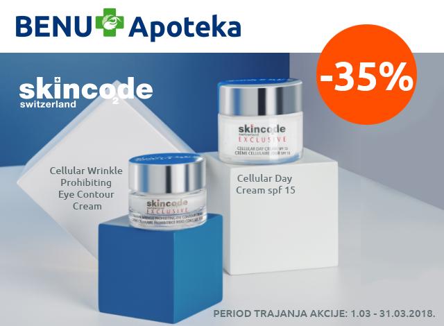 SKINCODE -35%
