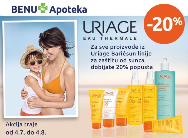 Uriage - popust 20%