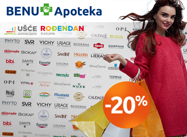 UŠĆE ŠOPING CENTAR -20%