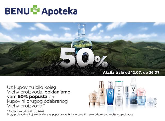 VICHY - popust 50%
