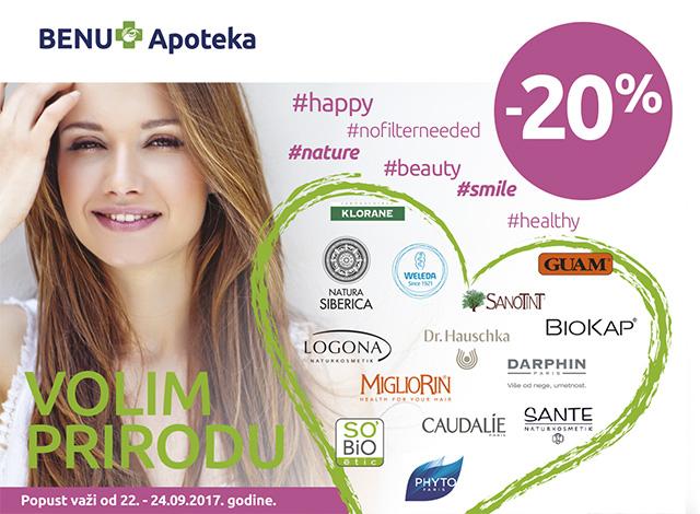 Vikend prirodne kozmetike -20%