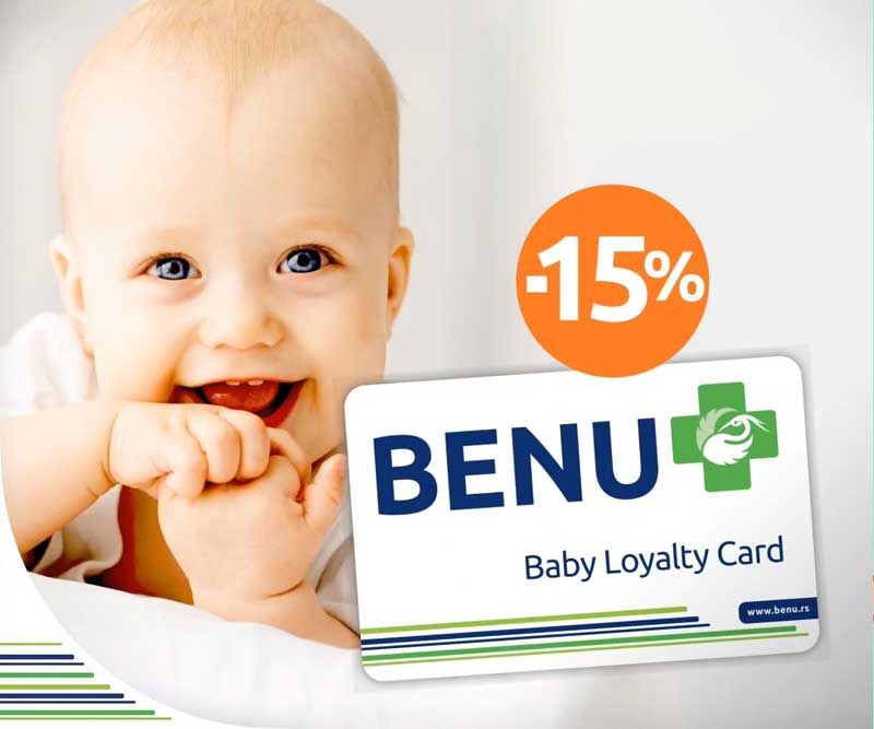 BENU Baby Loyalty kartica