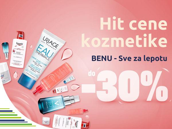 Veliki popust na kozmetiku od 30%!