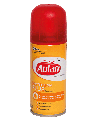 Autan protection plus sprej