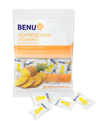 DEKSTROZA sa vitaminom C, ukus ananasa