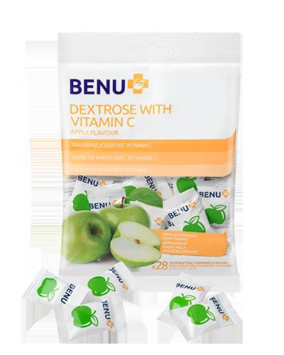 DEKSTROZA sa vitaminom C, ukus jabuke