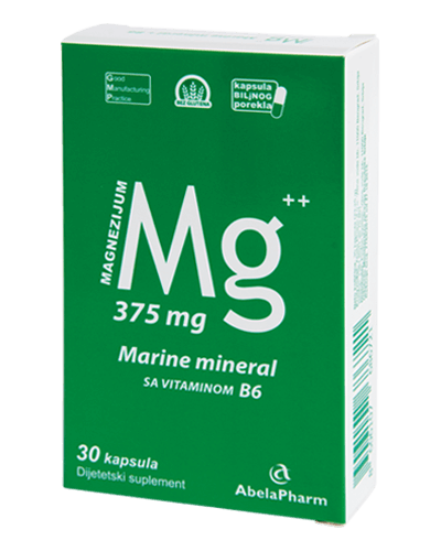 MAGNEZIJUM MARINE MINERAL + VITAMIN B6
