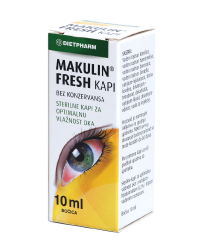 Dietpharm makulin fresh kapi za oči