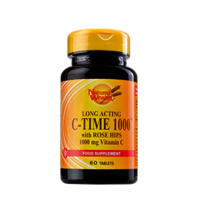 NATURAL WEALTH C TIME 1000 mg