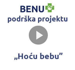 """BENU podrska projektu """"Hocu bebu"""""""